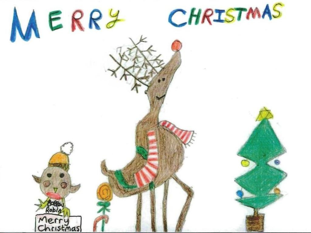 Alexander's School Christmas Card