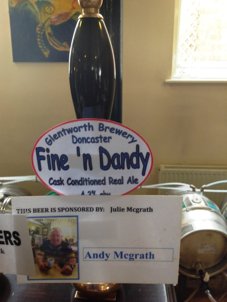 Glentworth Brewery - Fine and Dandy 4.2%