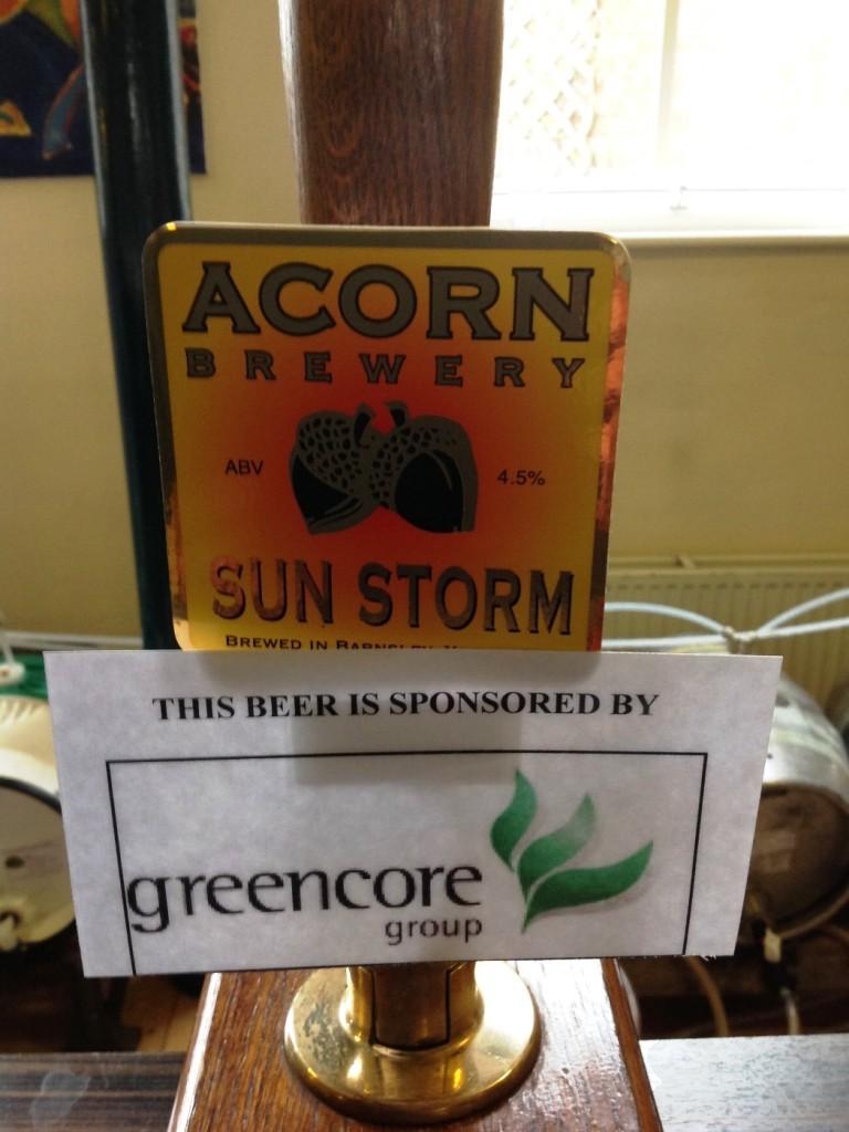 Acorn Brewery - Sun Storm 4.5%