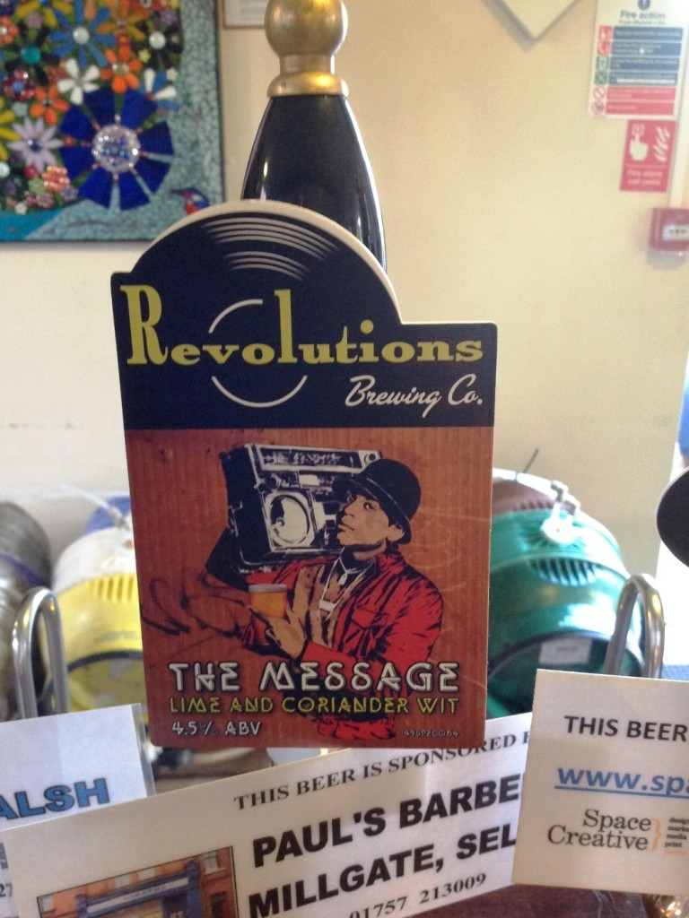 Revolutions Brewery - The Message 4.5%