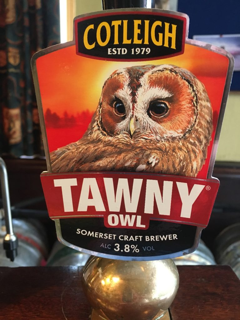 Cotleigh Brewery - Tawny Owl