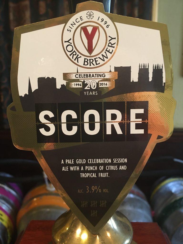 YorkBrewery - Score
